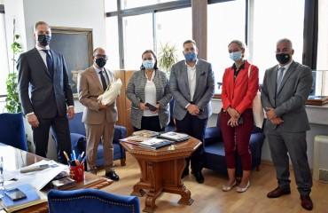 Επίσκεψη της Ολλανδής Πρέσβειρας στο Πανεπιστήμιο Μακεδονίας