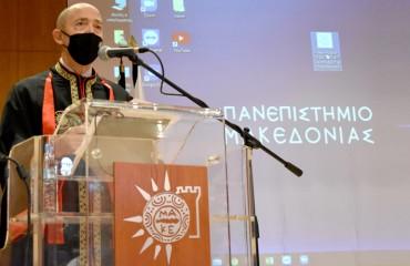 Χαιρετισμός του Πρύτανη, Καθηγητή Στυλιανού Δ. Κατρανίδη, στους Φοιτητές για τη νέα ακαδημαϊκή χρονιά 2021-2022