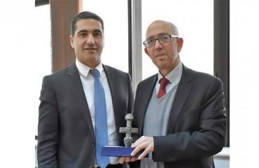 Επίσκεψη του Γενικού Προξένου της Κυπριακής Δημοκρατίας στην Πρυτανεία