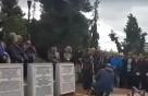 Οι Πρυτανικές Αρχές στη σιωπηλή πορεία στη μνήμη των Εβραίων που χάθηκαν στο Ολοκαύτωμα