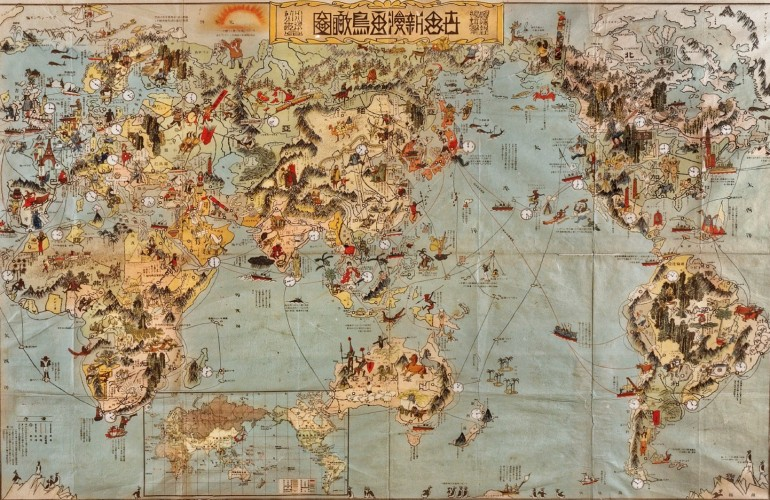 Michel Bruneau (Université Paris-Sorbonne): Λαοί- κόσμος μεγάλης διάρκειας:   Έλληνες, Ινδοί, Κινέζοι Πέρσες-Ιρανοί,  γεω-ιστορική προσέγγιση