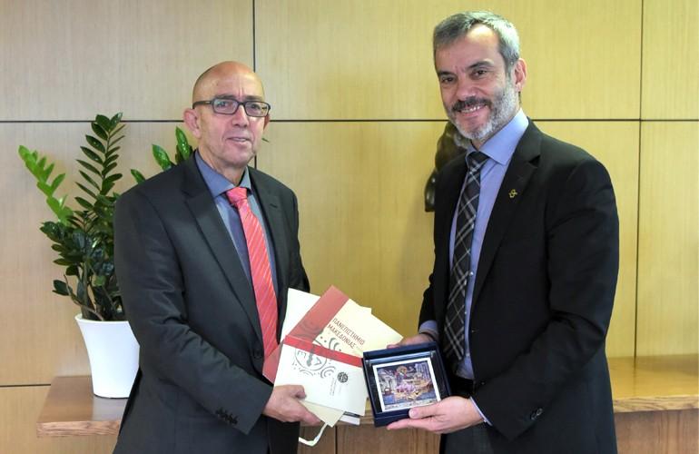 Εθιμοτυπική επίσκεψη του Πρύτανη του Πανεπιστημίου Μακεδονίας στο Δήμαρχο Θεσσαλονίκης
