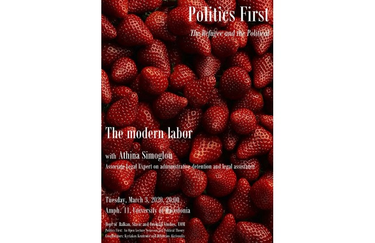 97th Politics First Open Lecture