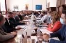 Οι Πρυτανικές Αρχές στη σύσκεψη με τον Πρωθυπουργό και τους επιστημονικούς φορείς