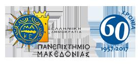 Ελληνικό Λογότυπο Πανεπιστημίου Μακεδονίας